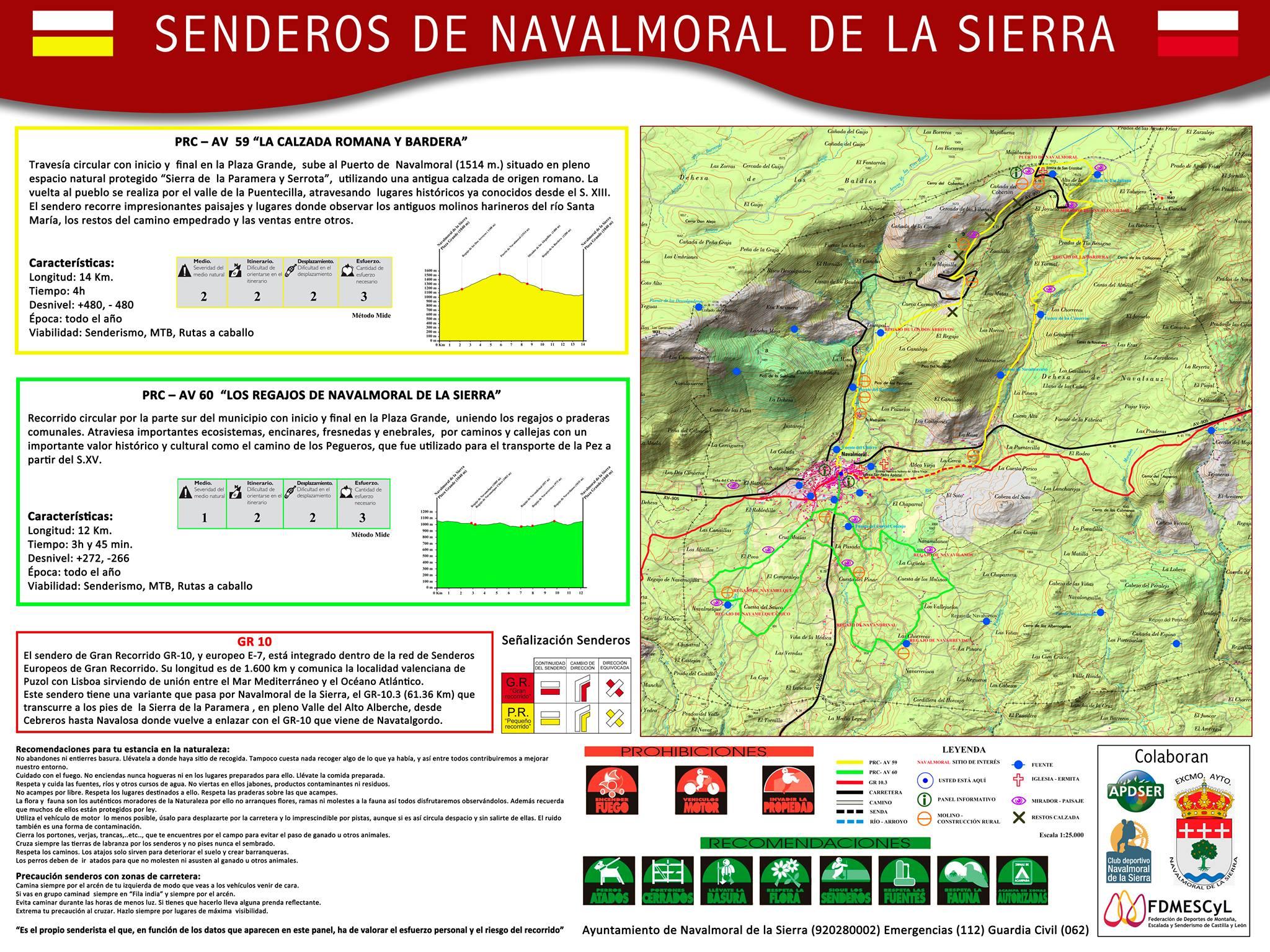 Senderismo en navalmoral de la sierra zona para - Navalmoral de la sierra ...