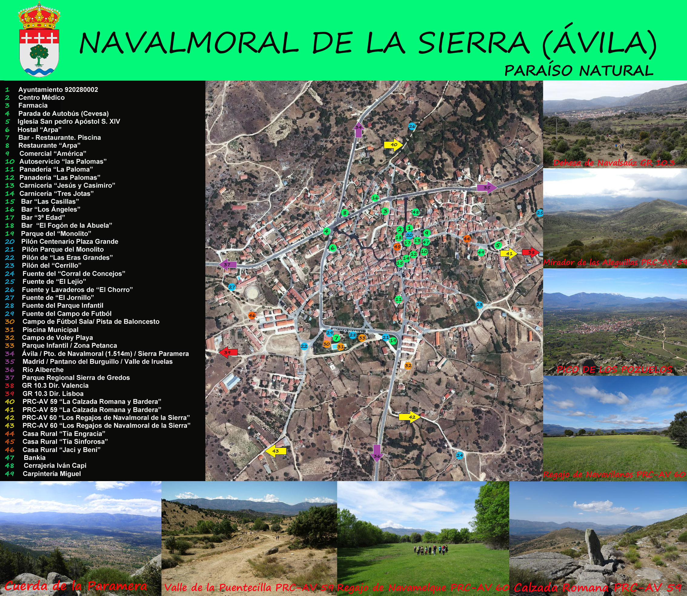 Navalmoral de la sierra vila zona para campamentos la - Navalmoral de la sierra ...